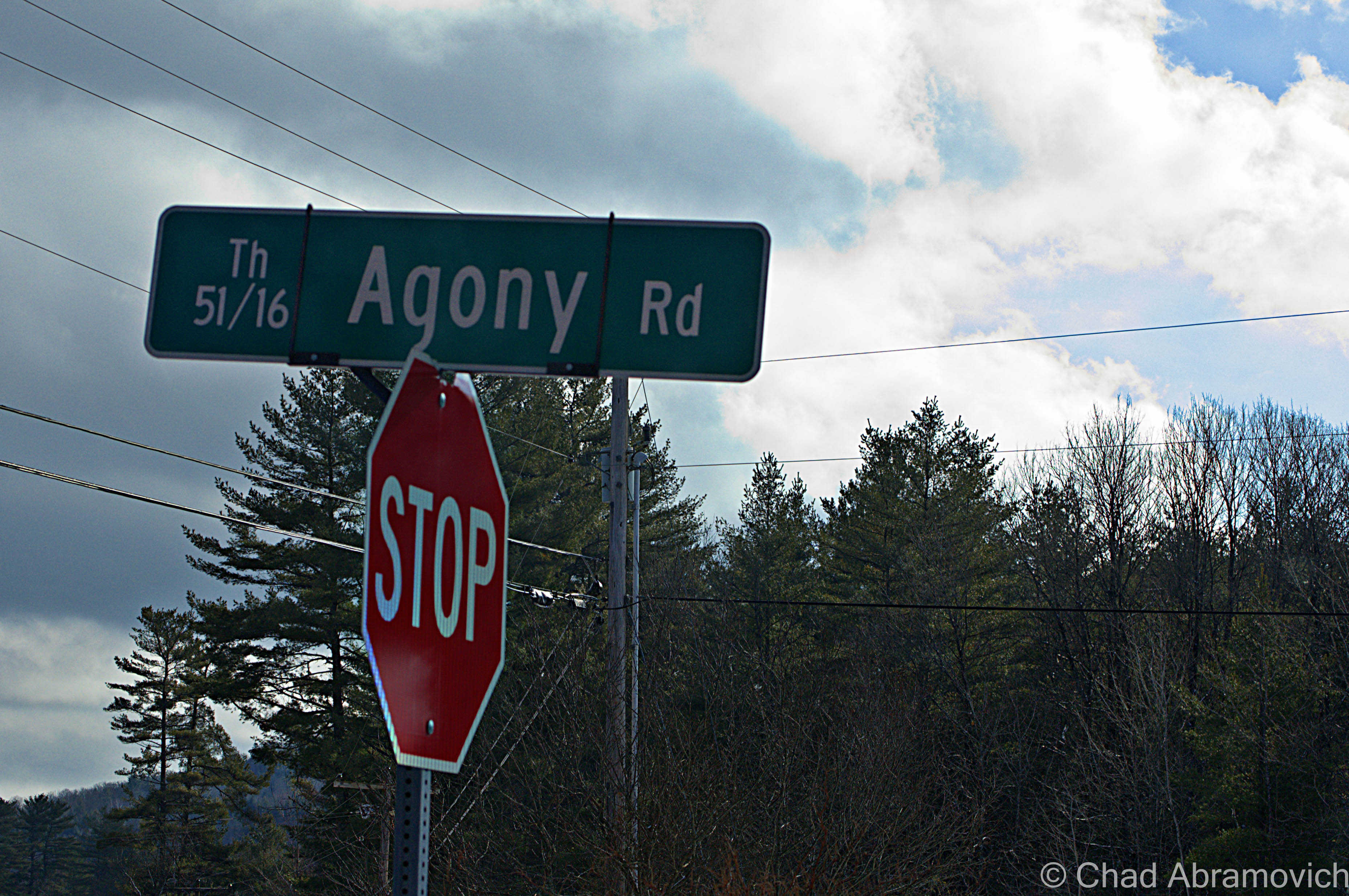 As seen driving down Route 106. What's in a name anyway?